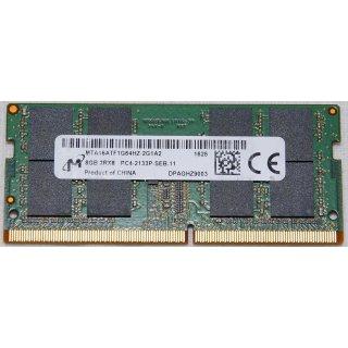 8GB DDR4 SO-DIMM 2133MHz