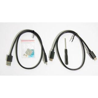 NVMe M.2 SSD USB-C Gehäuse