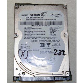 "Notebook 2,5"" SATA Festplatte 500GB ST500LM021"