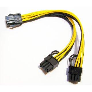 Stromadapter GPU Splitter Y-Adapter PCI Express