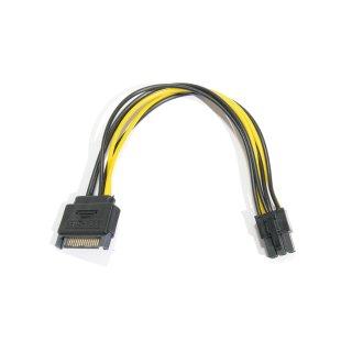 Stromadapter GPU S-ATA PCI Express