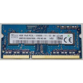 4GB DDR3L SO-DIMM 1600MHz